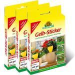 Neudorff Gelb-Sticker 30 Stück Vorteilspackung (3x10Stück)