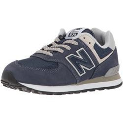 New Balance Unisex Kinder 574 Sneaker, Blau (Navy), 28 EU