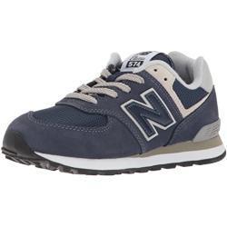 New Balance Unisex Kinder 574 Sneaker, Blau (Navy), 30.5 EU