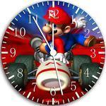 New Super Mario Bros. Wanduhr 25,4cm Nice Geschenk und Raum Wand Decor 56