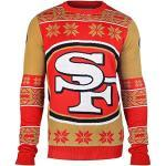 NFL Ugly Sweater/Pullover Christmas SAN FRANCISCO 49ERS Big Logo in XXL (2XL)