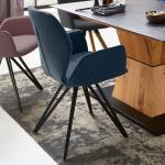 Schwarze Niehoff Stühle mit Armlehne Breite über 500cm, Höhe über 500cm, Tiefe 50-100cm