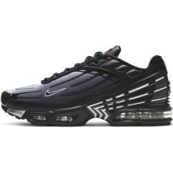 Schwarze Nike Air Max Plus III Herrenschuhe Übergrößen