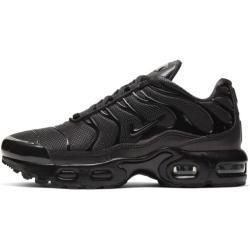 Schwarze Nike Air Max Plus Kinderschuhe Leicht