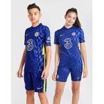 Blaue Nike Olympique Lyon FC Chelsea London Trikots für Kinder - Heim 2021/22