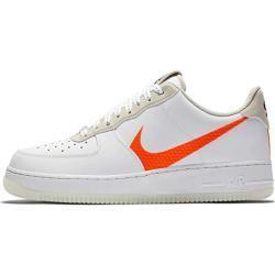 Nike Herren Air Force 1 '07 Lv8 3 Basketballschuh, White Total Orange Summit White Black, 52.5 EU