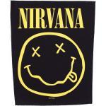 Nirvana - Smiley - Aufnäher -