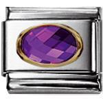 Nomination Classic Zirkonia Facett. Violett 030601 01
