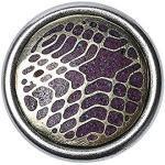 Noosa petite Chunk KOLAM Hase purple-white-metal