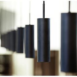 Nordlux Pendelleuchte MIB 6 Metall Schwarz Modern 24x27x6 cm (BxHxT) 1-flammig GU10 28W