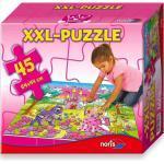 Noris XXL Bodenpuzzle Riesenpuzzle 45 tlg. Riesenpuzzle Prinzessin 64x44cm 34961