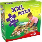 Noris XXL Bodenpuzzle Riesenpuzzle 45 tlg. Urlaub auf dem Bauernhof 64x44cm 31565