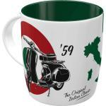 Nostalgic-Art - Keramik Kaffee-, Tee-, Kakaotasse Becher Pott 330ml
