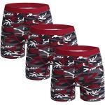 Rote Herrenunterwäsche mit Basketball-Motiv Übergröße für den Frühling