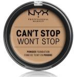 NYX Professional Makeup Can't Stop Won't Stop Full Coverage Powder Kompakt Foundation 10.7 g Nr. 09 - Medium Olive