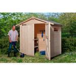 OBI Garten Holz-Gartenhaus/Gerätehaus Kompakt B BxT: 198 cm x 148 cm
