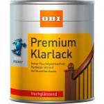 OBI Kunstharz Klarlack Transparent hochglänzend 750 ml