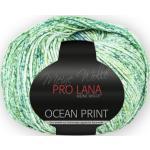 Ocean print - 100 % ägyptischer mercerisierter und gasierter Baumwolle