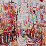 Ölgemälde handgemalte abstrakte Landschaft zeitgenössische moderne gestreckte Leinwand mit gestrecktem Rahmen oder gerollt ohne Rahmen Lightinthebox