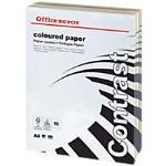 Office Depot Contrast Kopier-/ Druckerpapier DIN A4 80 g/m² Farbig sortiert 500 Blatt