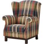 Ohrensessel - mehrfarbig - Polstermöbel > Sessel > Polstersessel