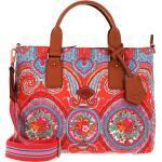 Oilily Handtasche »City Rose Paisley«, orange, Hot Coral