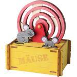 Olli Olbot Spardose Mäuse gelb Kinderzimmer, 35274