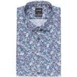 Olymp Kurzarm-Hemd Luxor Modern Fit blau