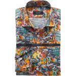 OLYMP SIGNATURE Tailored Fit Hemd mehrfarbig, Paisley
