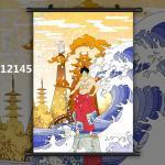 One Piece Monkey D. Luffy Anime Wallscroll Poster Kunstdrucke Bider Drucke