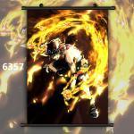 One Piece Portgas D Ace Luffy Anime Wallscroll Poster Kunstdrucke Bider Drucke