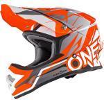 O'Neal 3Series Fidlock Freerider Helm, Orange-Grau L (59/60)