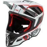 Weiße O'Neal Downhill-Helme mit Kamerahalterung für Herren