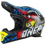 O'Neal Fury RL Helmet Wild Fullfacehelm Erwachsene multi, Gr. XL 61-62CM Gr. XL 61-62 cm (0499W-205)