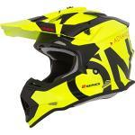 O'NEAL | Motocross-Helm | Kinder | MX Enduro | ABS-Schale, Sicherheitsnorm ECE 22.05, Lüftungsöffnungen für optimale Belüftung & Kühlung | 2SRS Youth Helmet Slick | Schwarz Neon-Gelb | Größe L