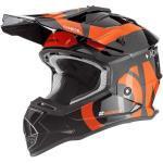 O'NEAL   Motocross-Helm   Kinder   MX Enduro   ABS-Schale, Sicherheitsnorm ECE 22.05, Lüftungsöffnungen für optimale Belüftung & Kühlung   2SRS Youth Helmet Slick   Schwarz Orange   Größe S