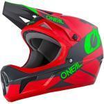 O'Neal Sonus Deft Rot-Grau Fullface Helm XL (61/62)
