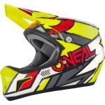 O'Neal Sonus Strike Gelb Fullface Helm L (58/59)