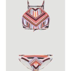 O'Neill Bikini »Soara Koppa«, weiß, Weiß Rot Print