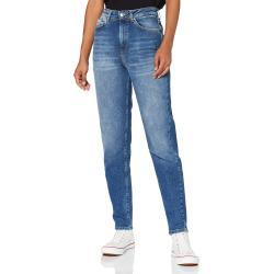 Blaue ONLY Mom-Jeans & Karottenjeans für Damen Größe XS