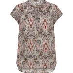 Only Druckbluse »onlalma Life«, Braun, Ginger Root Aop:soft Paisley