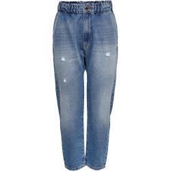 ONLY Onlkatie Life Cropped Jeans Damen Blau