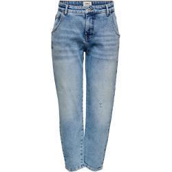 Blaue ONLY Mom-Jeans & Karottenjeans für Damen