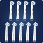 Oral-B Ersatzzahnbürste OralB Sensitive Clean 3+3+3 Pack FFS Braun