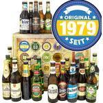 Original 1979 / Bierset Welt und DE/Geschenkbox Geburtstag/Adventskalender Bier 2019