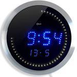 Orium 11815Wanduhr LED Alu Durchmesser 30cm