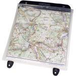 Ortlieb Kartentasche für Ultimate Lenkertasche, Farbe: klar m. Druckknopf, Größe: 27 x 27 cm