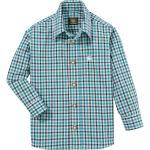 OS-Trachten Trachtenhemd in moderner Karo-Optik