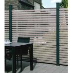 Osmo Sichtblende Alu-Fence Rhombus graubraun 180 x 45 cm Erweiterungsset