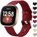 Rote Uhrenarmbänder für Damen